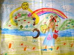 Giving, Iveta (children's drawings)