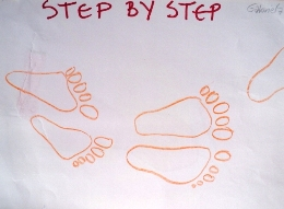 Step by step, Gabriela Jonczy